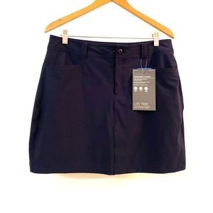 🆕 Eddie Bauer Navy Blue Skort (skirt/short)